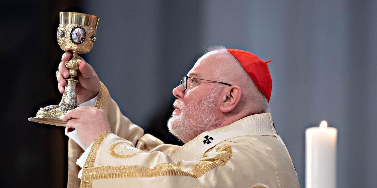 cardinale tedesco Reinhard Marx arcivescovo Monaco  Frisinga