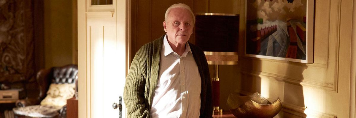 """Anthony Hopkins nel film """"The Father"""""""