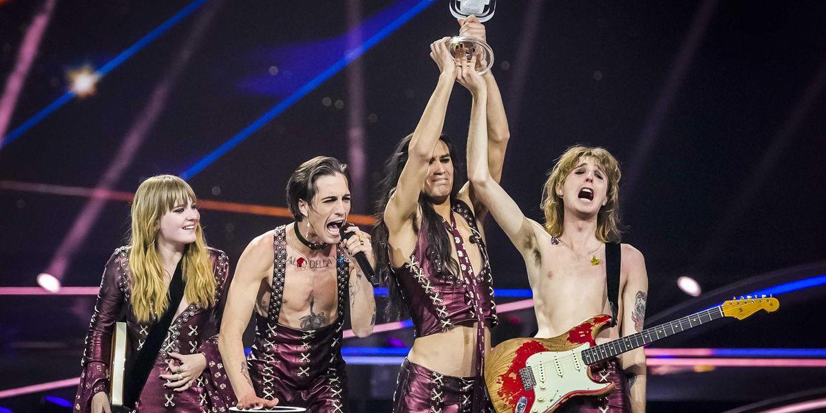 I Maneskin trionfano all'Eurovision 2021