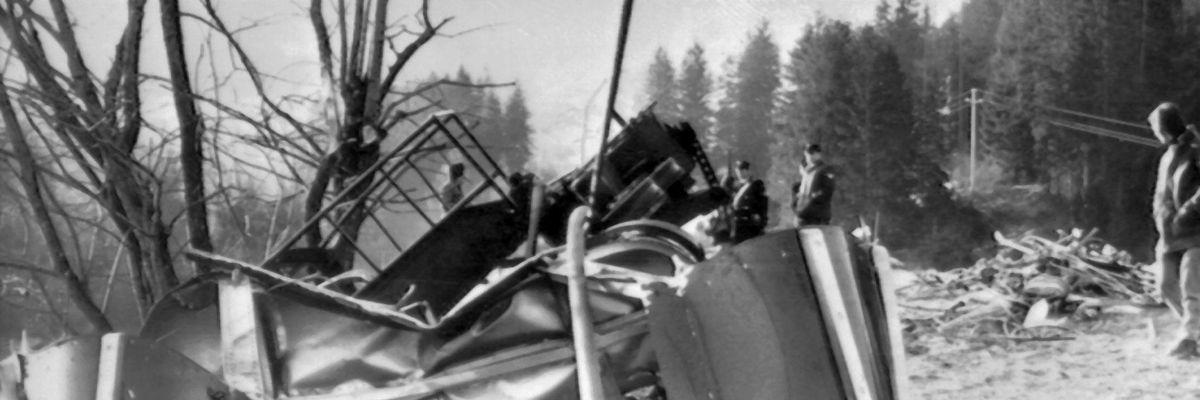 40 anni fa la prima tragedia della funivia di Cavalese