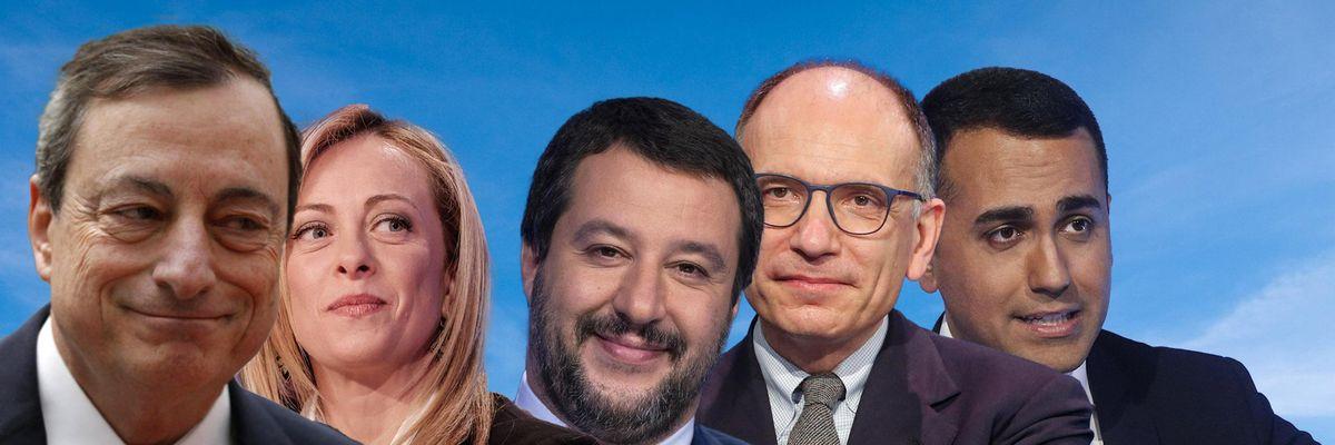politici italia draghi