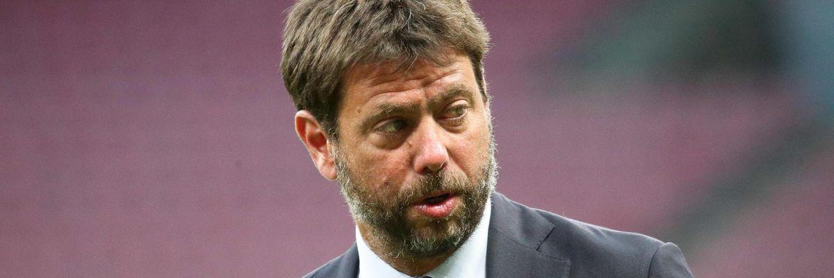 agnelli superlega presidente juventus uefa ceferin sanzioni champions league