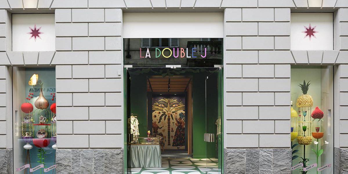 Apre a Milano, il primo negozio «La DoubleJ» firmato dall'eclettica J.J. Martin
