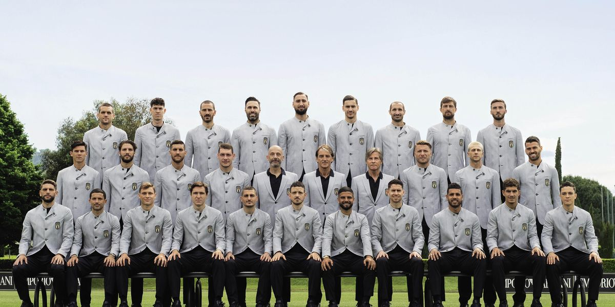 Agli Europei 2021, gli Azzurri vestono Emporio Armani
