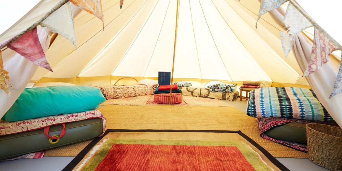 Glamping in tenda sì, ma a cinque stelle