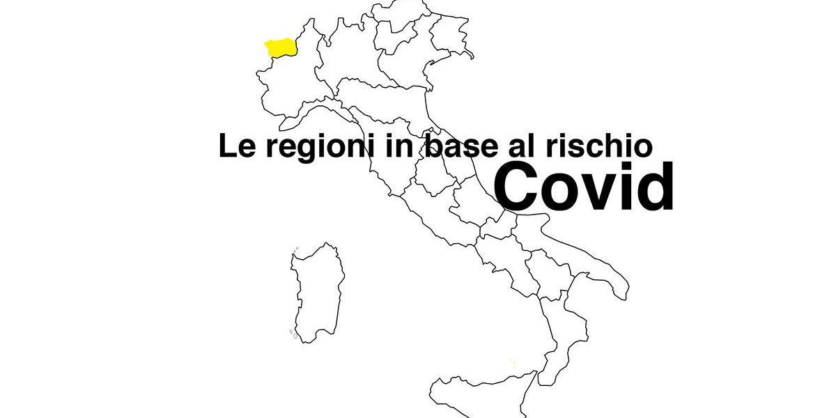Regione per regione, l'Italia divisa in zona arancione e gialla