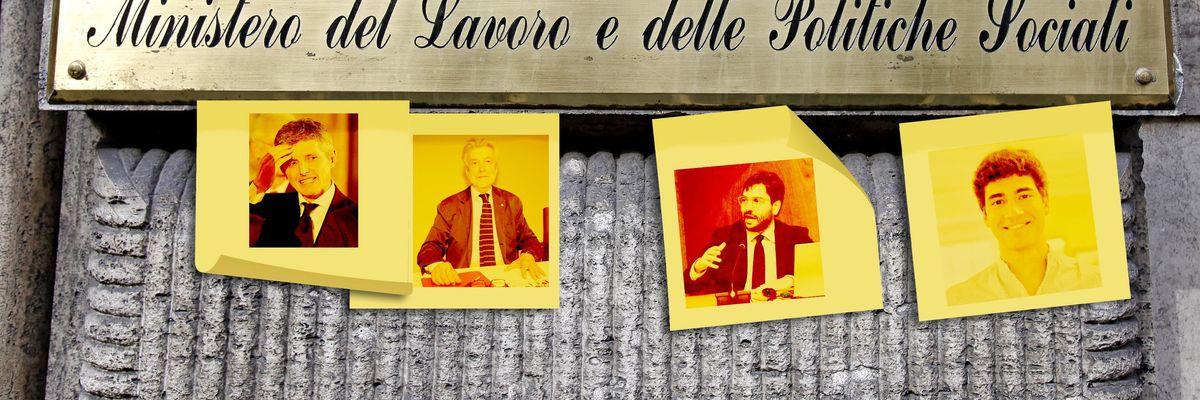 Andrea Martella, Cesare Damiano, Michele Fina, Pietro Galeone
