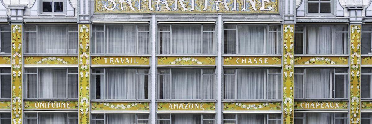 Dopo 17 anni riaprono i grandi magazzini Samaritaine di Parigi