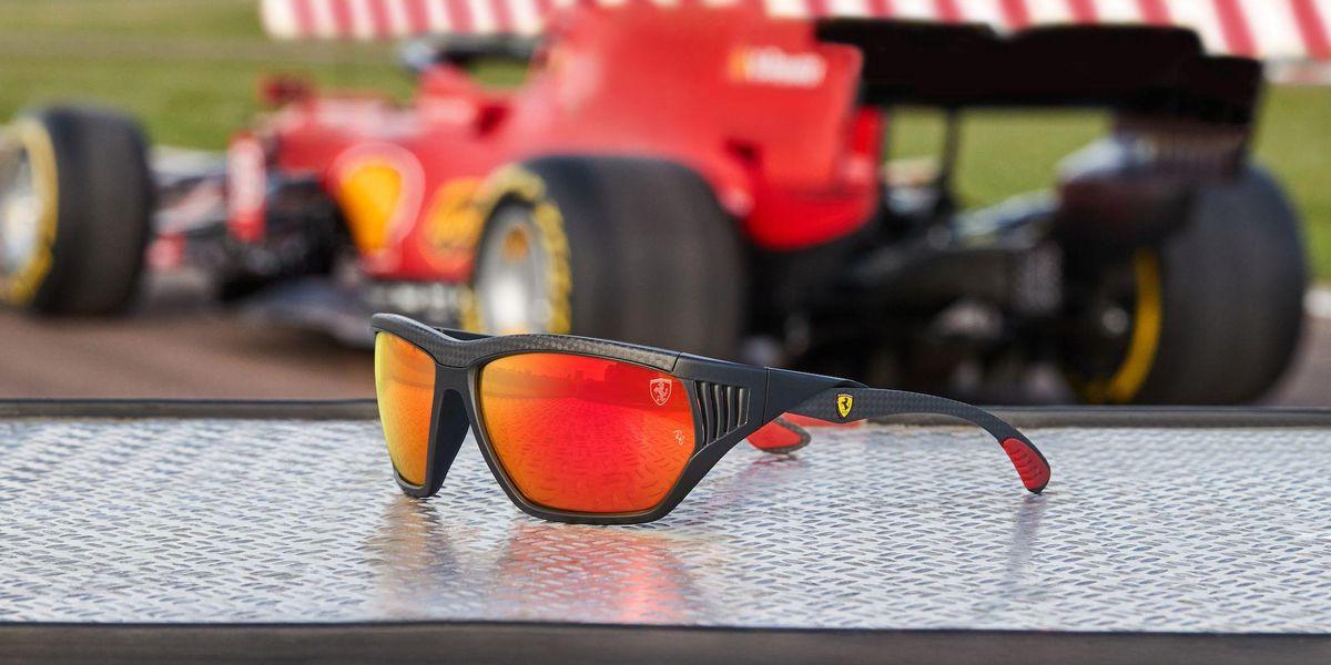 Gli occhiali da F1 di Ray-Ban per Scuderia Ferrari