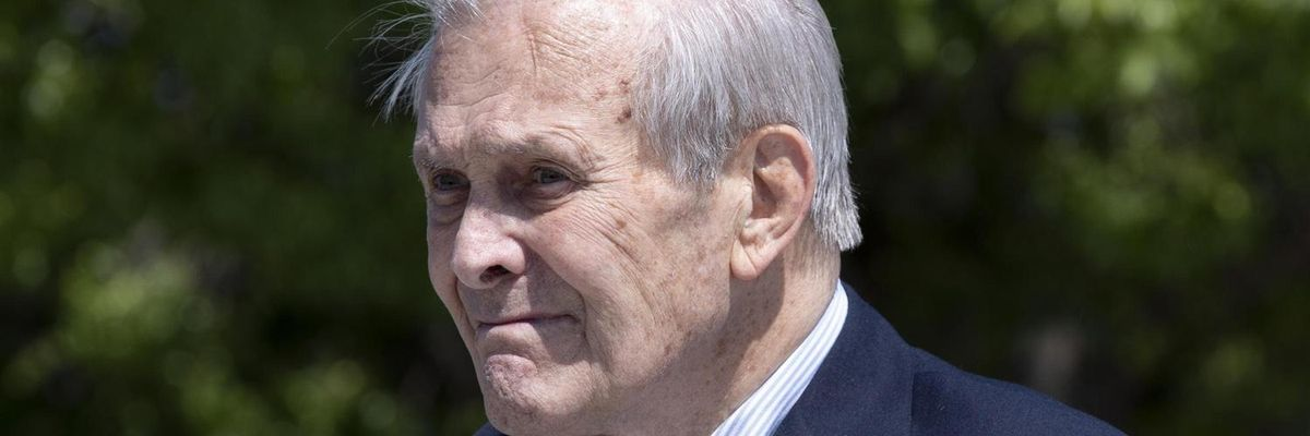 Donald Rumsfeld pentagono