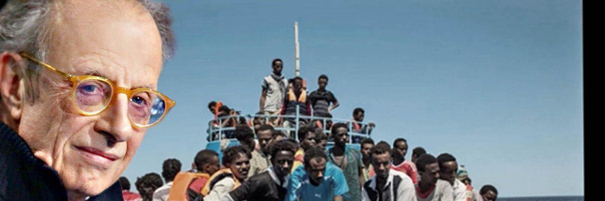 L'ex magiustrato Gherardo Colombo barcone migranti eritrei