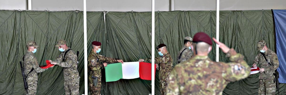 fine missione italiana Afghanistan