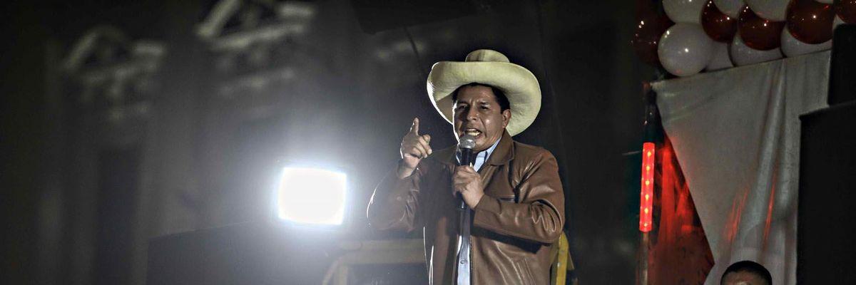 José Pedro Castillo  Perù Libre