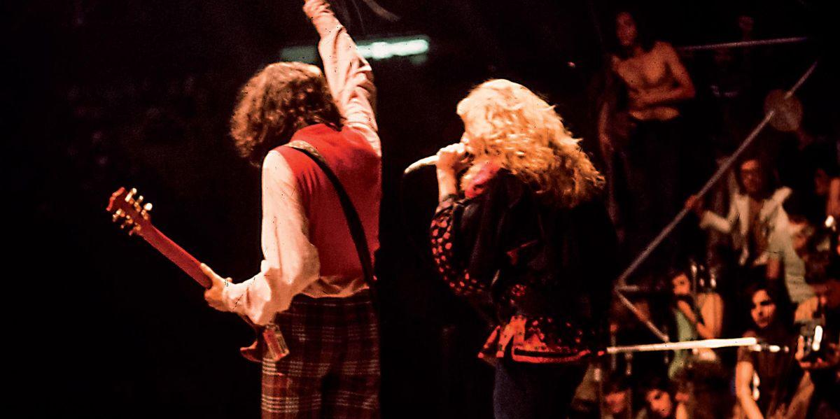 5 luglio 1971: scene di ordinaria follia per i Led Zeppelin al Vigorelli