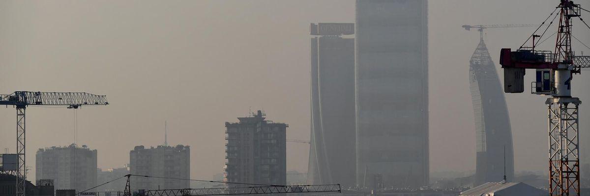 inquinamento smog Milano