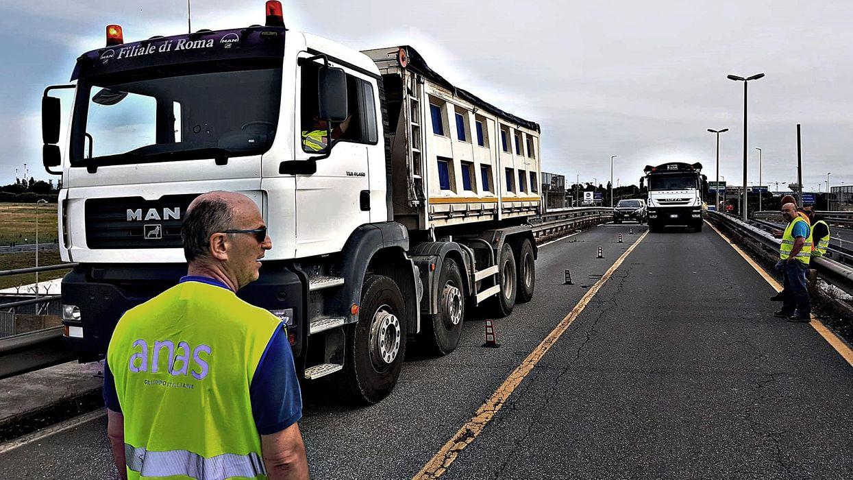 Pericolo di autostrade interrotte