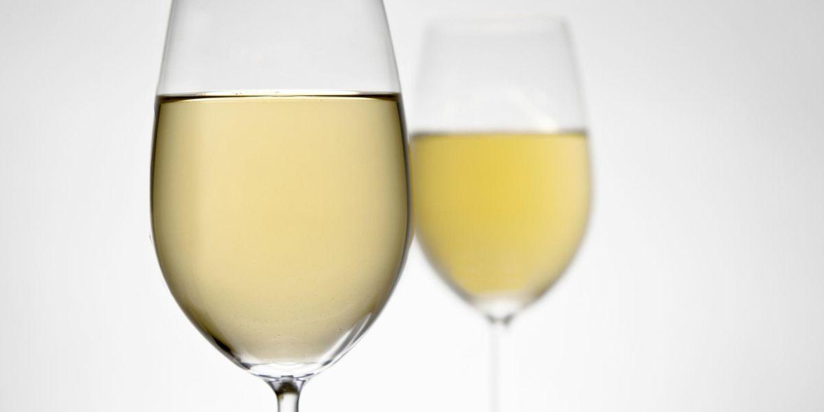 vino bianco calice