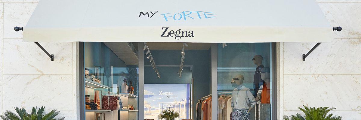 Zegna riparte dal «luxury leisurewear» con due nuove boutique. A Roma e Forte dei Marmi