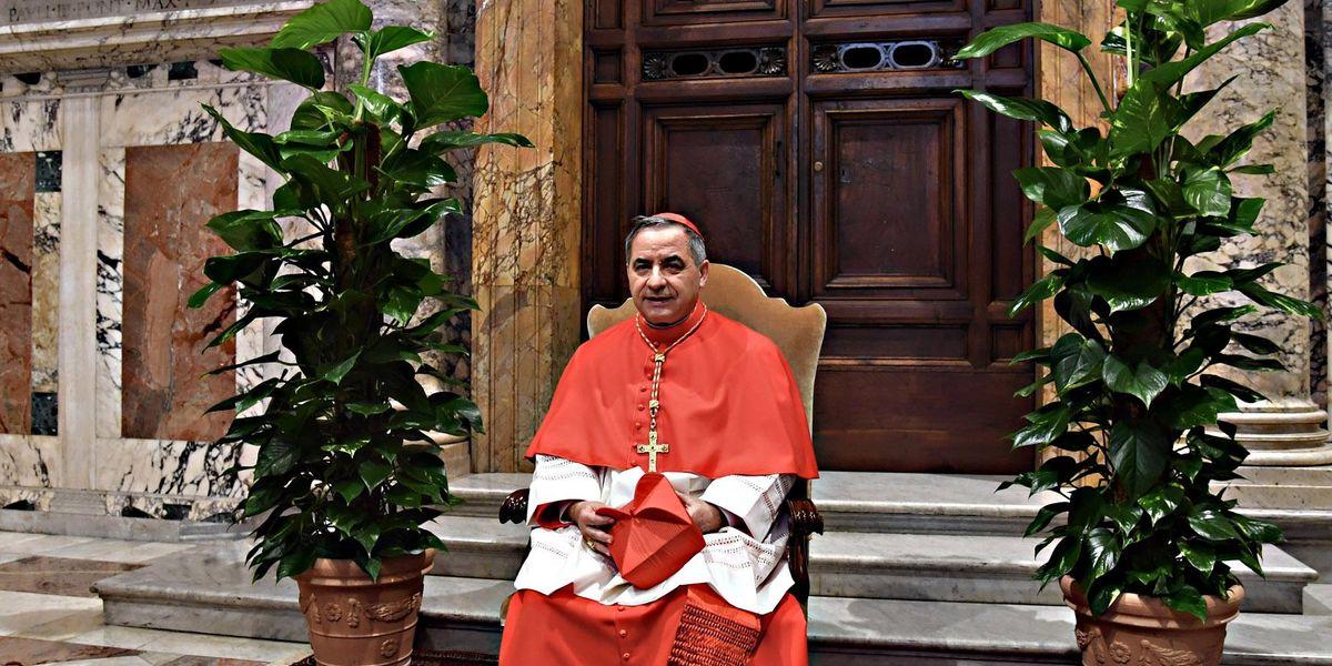 ex arcivescovo Angelo Becciu