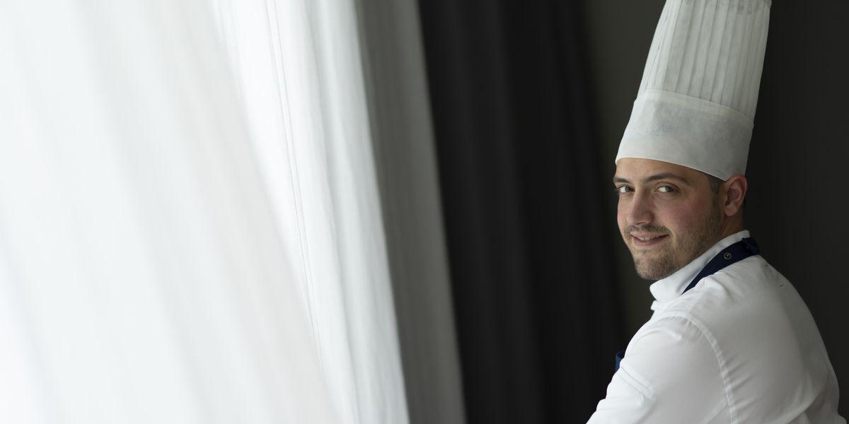 La serietà in cucina di Chef Marco Carasi