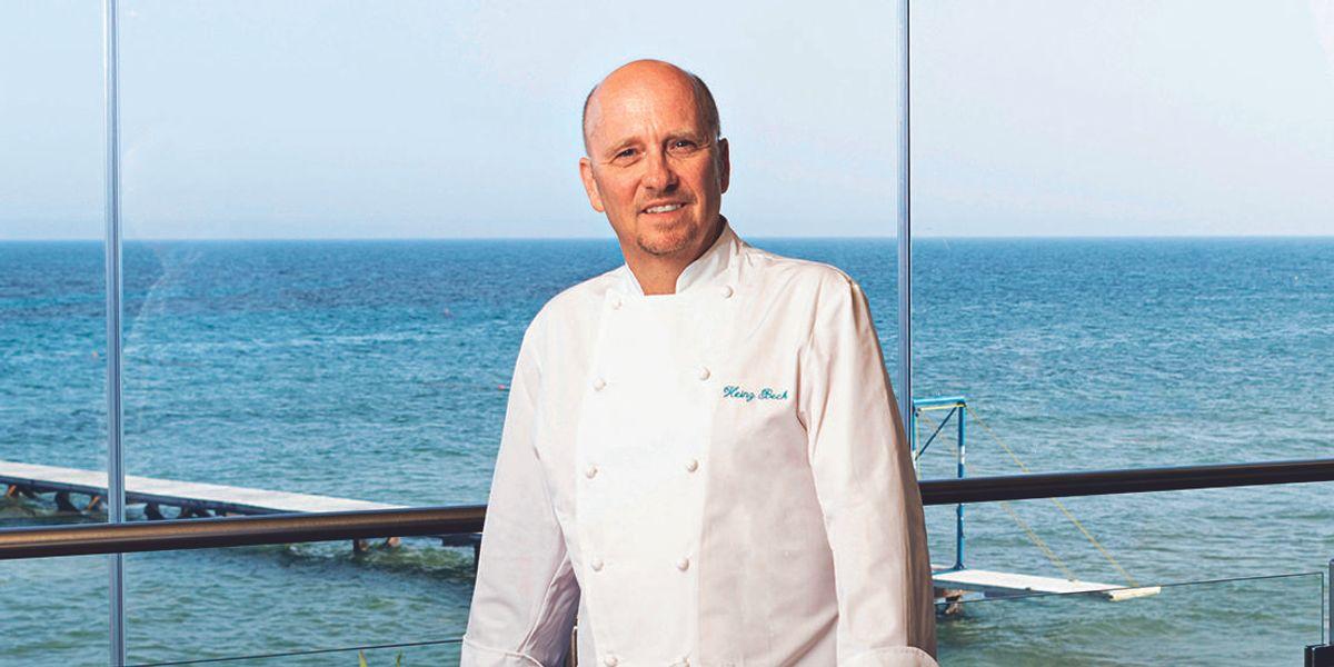 chef Heinz Beck Forte Village Sardegna