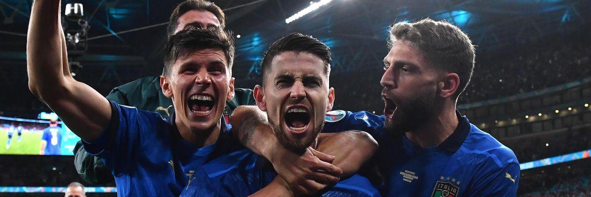 Europeo Euro 2020 italia semifinale spagna jorginho