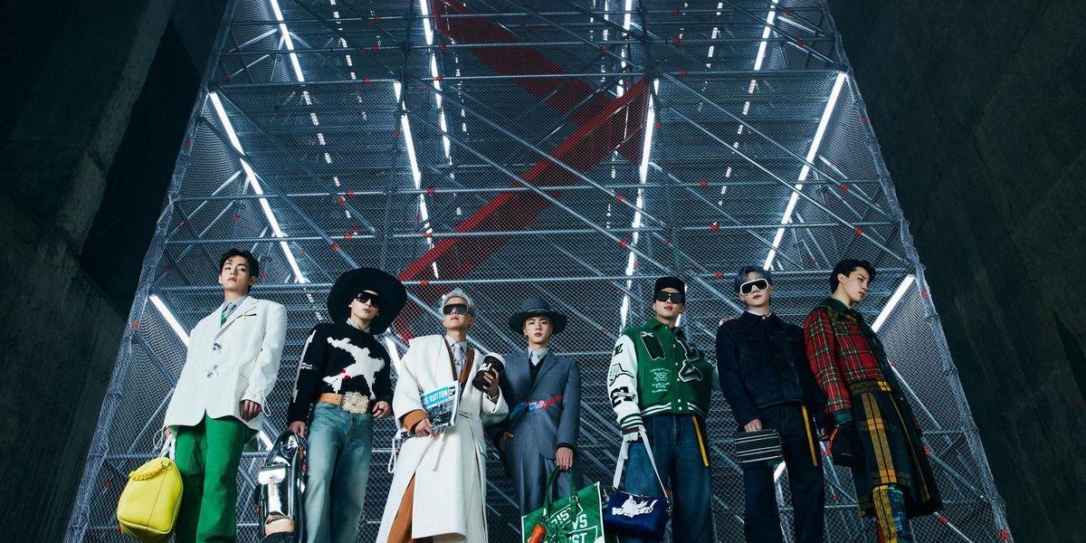 I BTS sono i protagonisti dello show di Louis Vuitton a Seoul