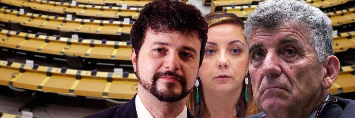 Brando Benifei, Isabella Adinolfi e Pietro Bartolo