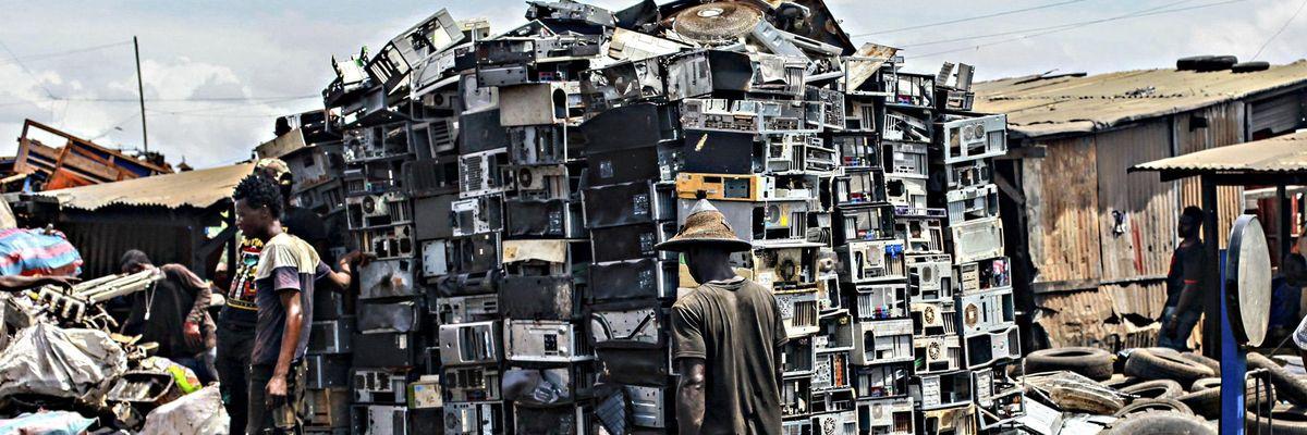 rifiuti elettronici Agbogbloshie