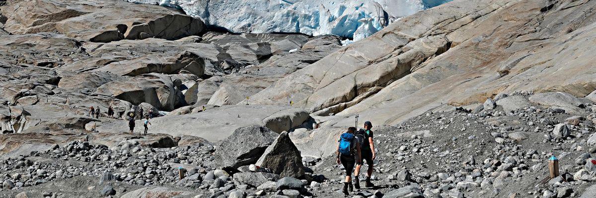 ghiacciaio Nigard