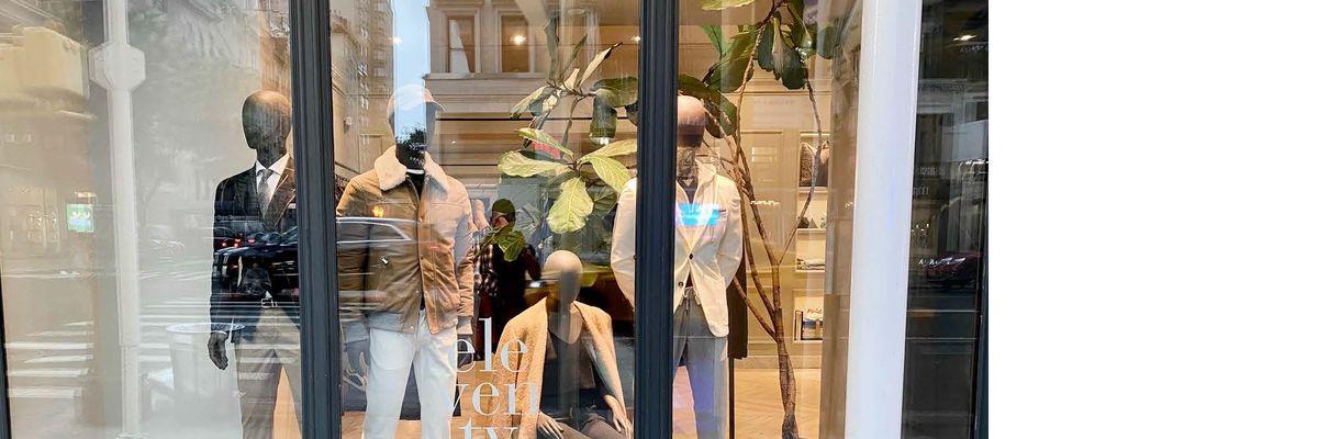 Un nuovo flagship store Eleventy a New York