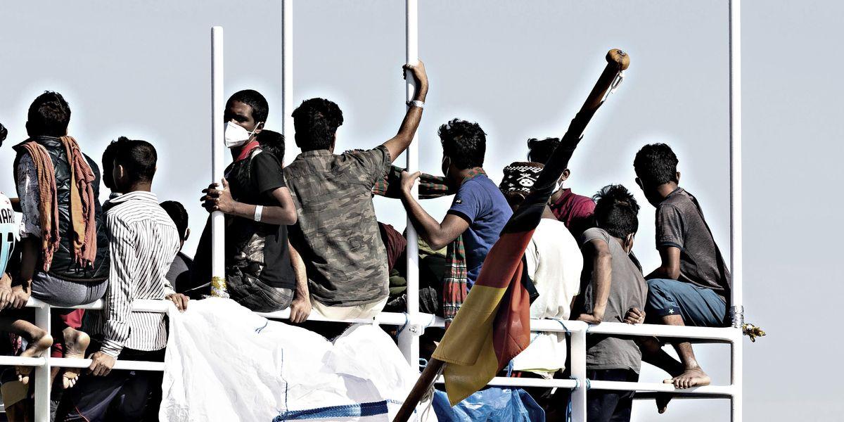 migranti sbarchi italia
