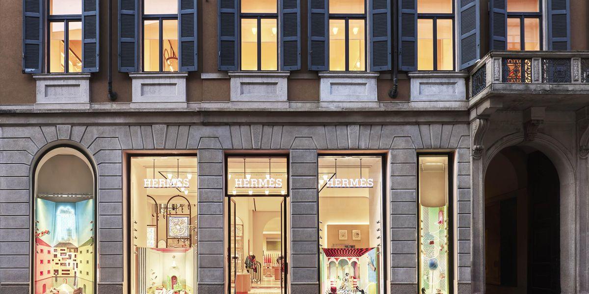 Il savoir-faire di Hermès trova la sua casa in via Montenapoleone