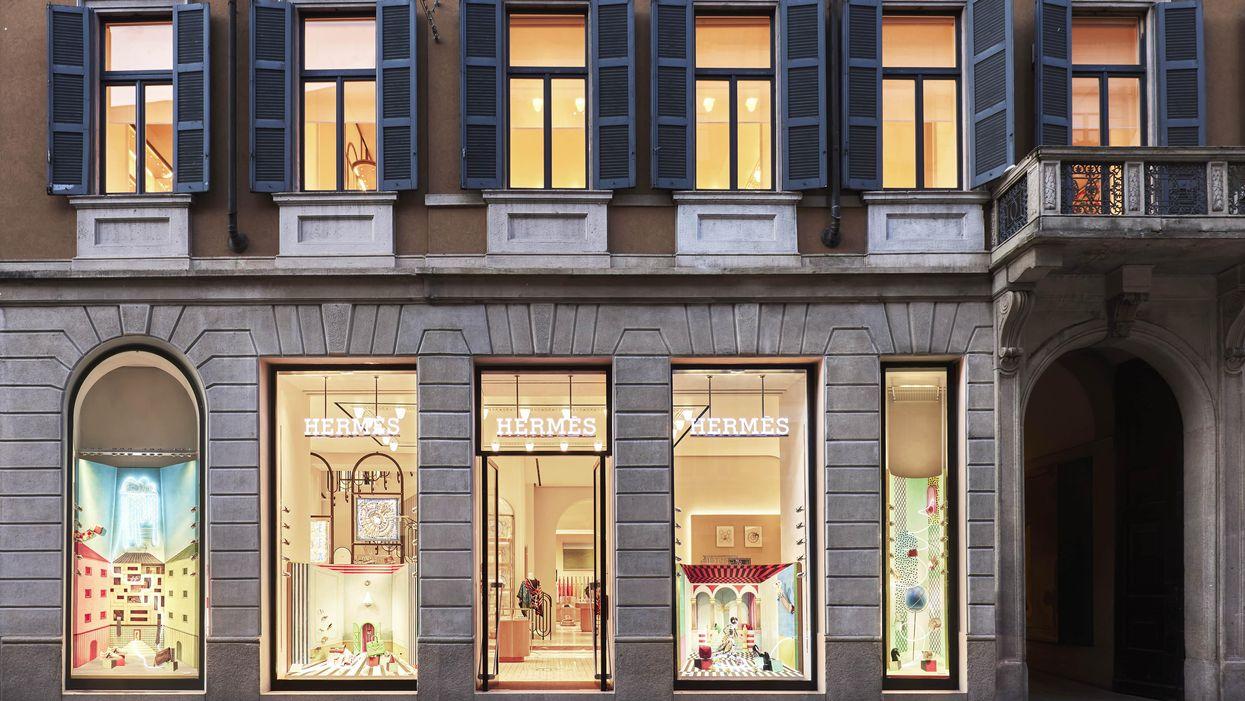 Il savoir faire di Hermès trova la sua casa in via Montenapoleone