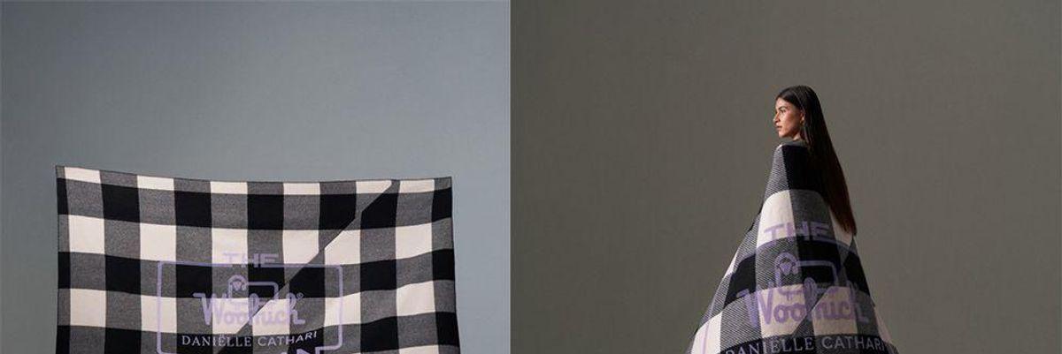 La stilista olandese Daniëlle Cathari rielabora The Woolrich Woman