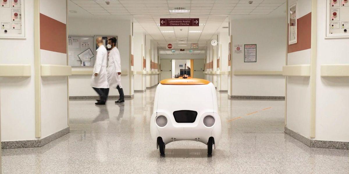 In ospedale i medicinali li consegna il drone