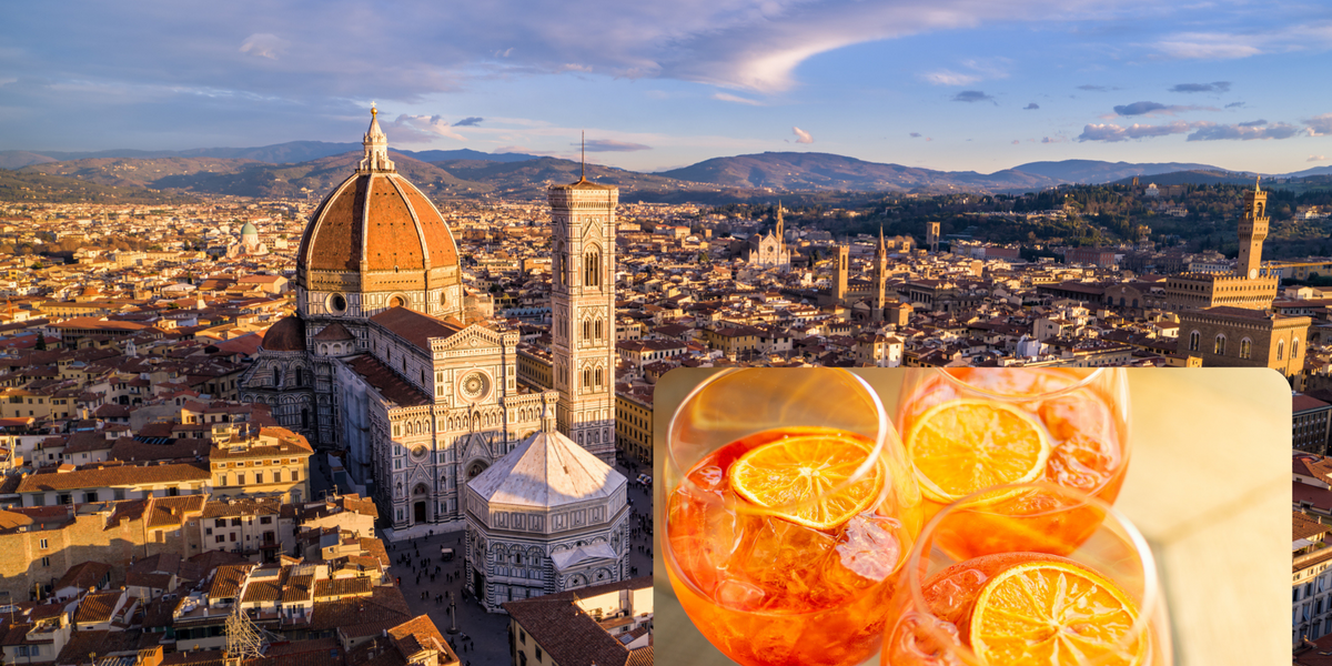 A Firenze si celebra il rito dell'aperitivo