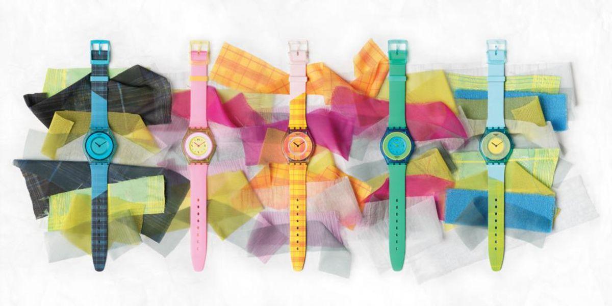 Swatch sceglie la designer Supriya Lele per una nuova (coloratissima) collezione