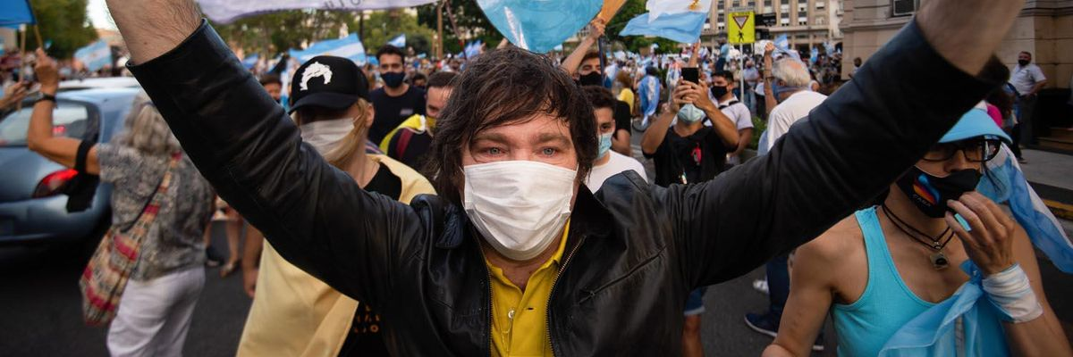 Javier Milei: l'uomo che vuole liberare l'Argentina