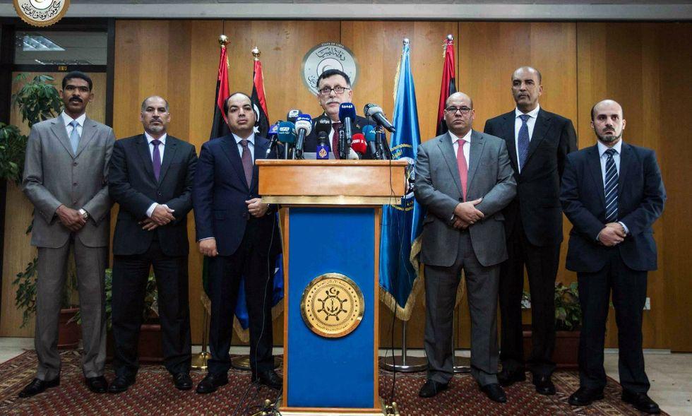 libia-Sarraj-governo