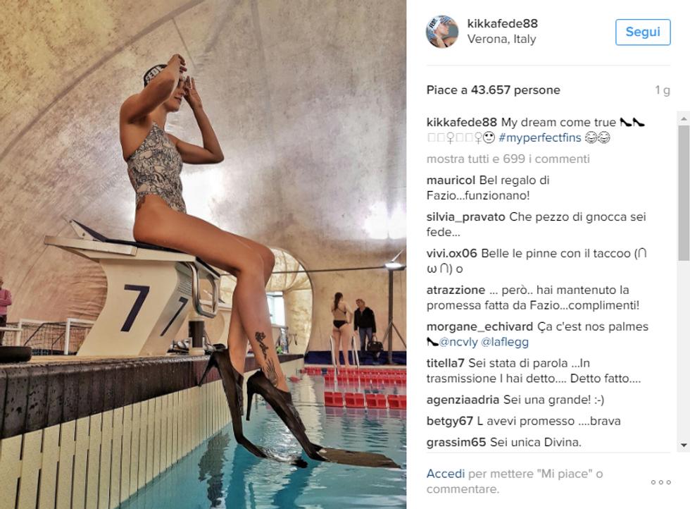 Pellegrini, nuotatrice super sexy sui social
