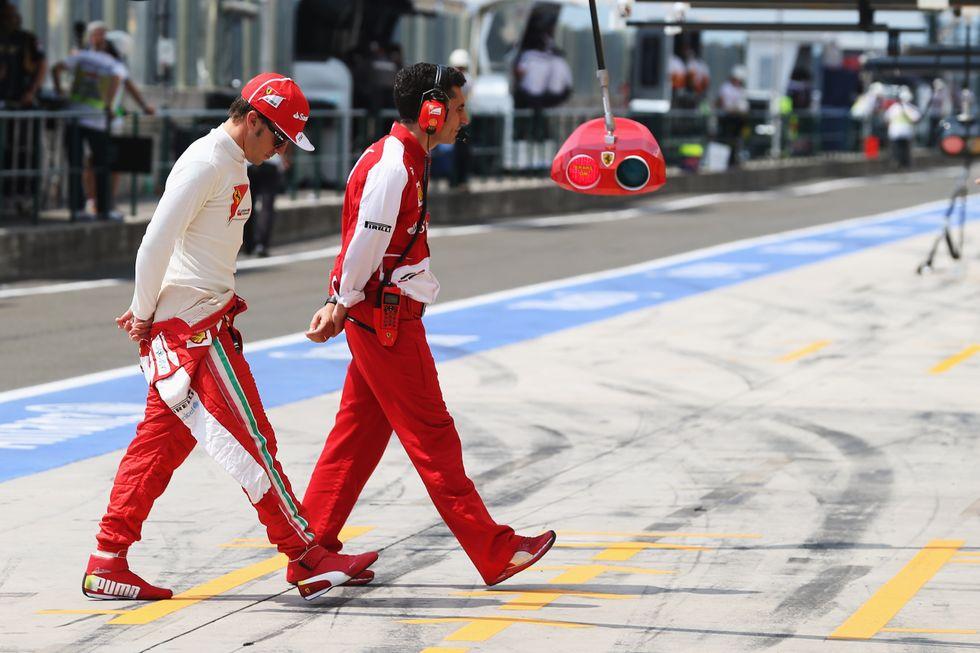 I 5 mali della Ferrari
