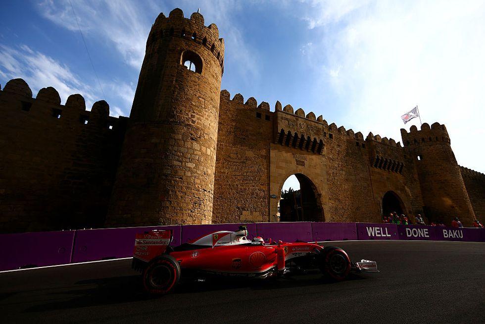 Ferrari Gp Baku Azerbaigian caratteristiche Vettel