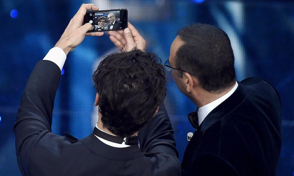 Sanremo 2016, Carlo Conti e Gabriel Garko