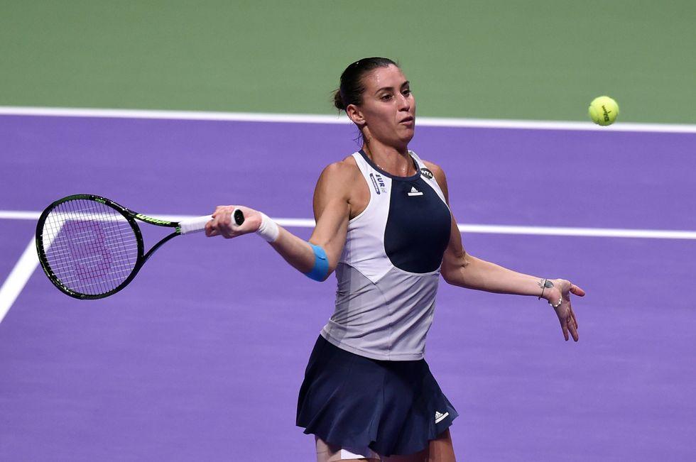 Tennis, l'addio della Pennetta: la carriera di Flavia in 20 scatti