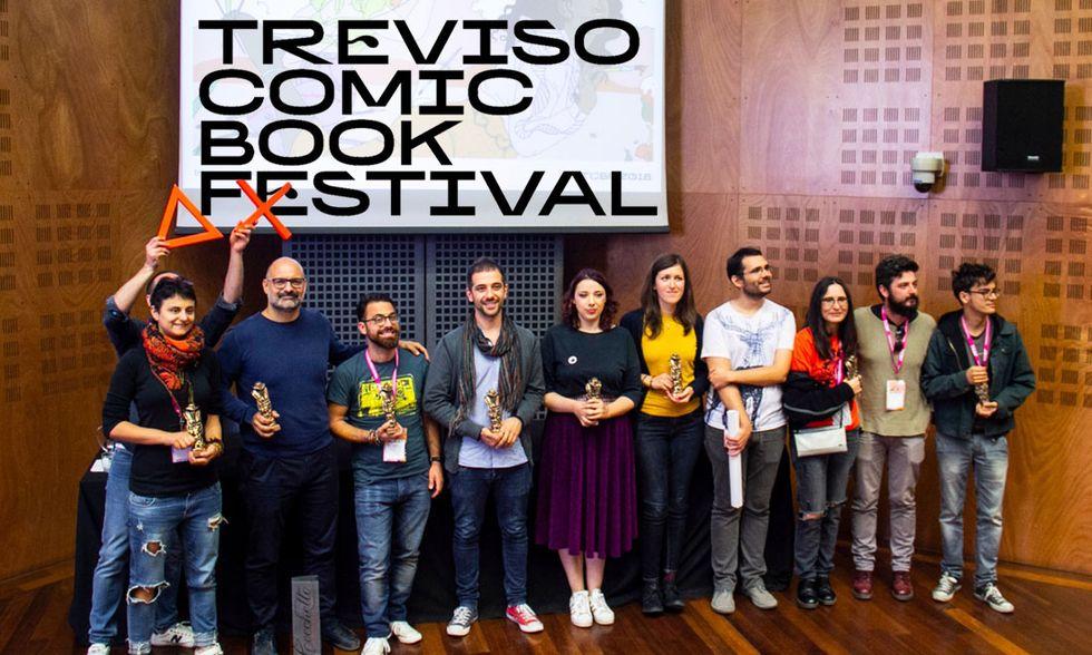 Treviso Comic Book Festival 2018: i fumetti e gli autori premiati