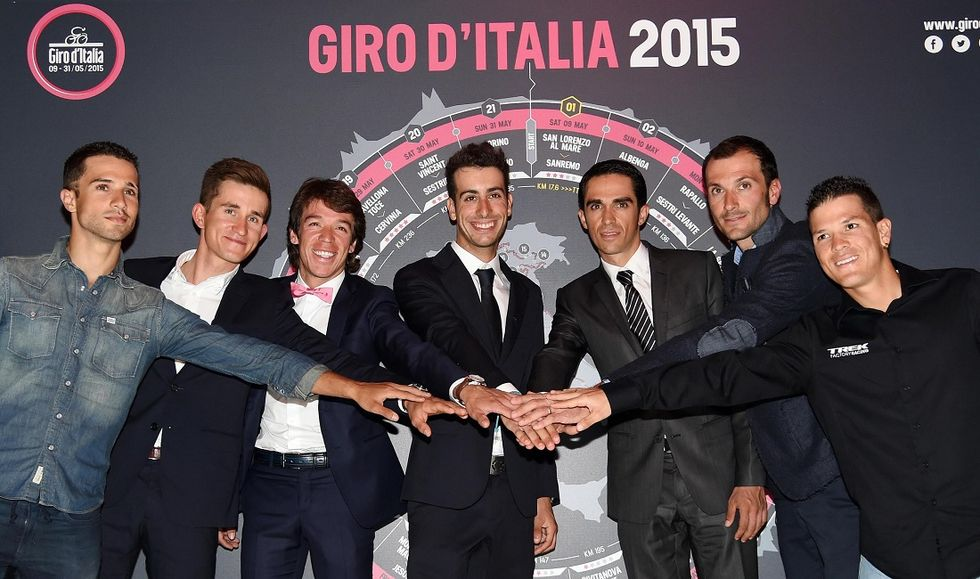 Giro d'Italia 2015, tutti i numeri