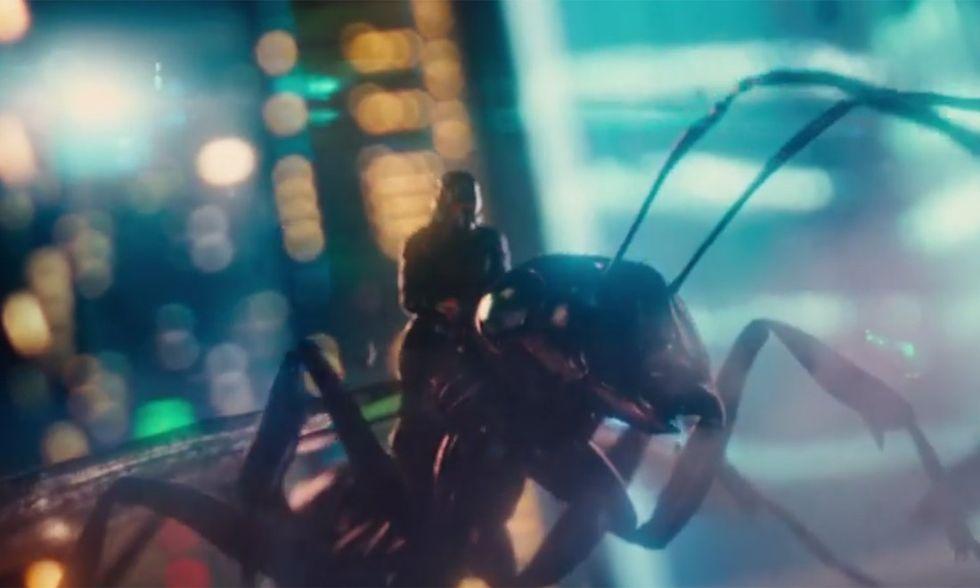 Ant-Man, il nuovo film sui supereroi Marvel - Trailer italiano