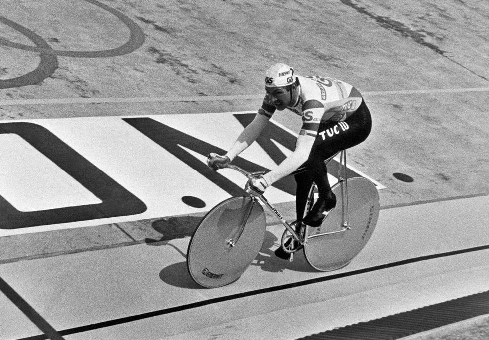 30 anni fa il record dell'ora di Francesco Moser