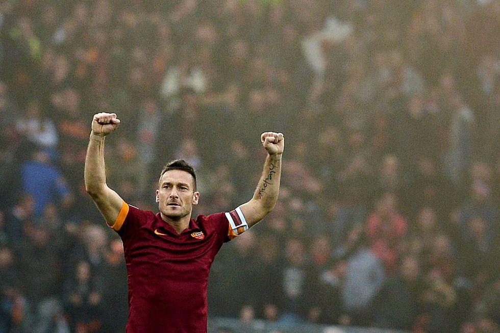 Francesco Totti addio Roma record gol numeri carriera
